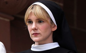 AMERICAN HORROR STORY - Lily Rabe as Sister Eunice - Photo: Michael Yarish/FX
