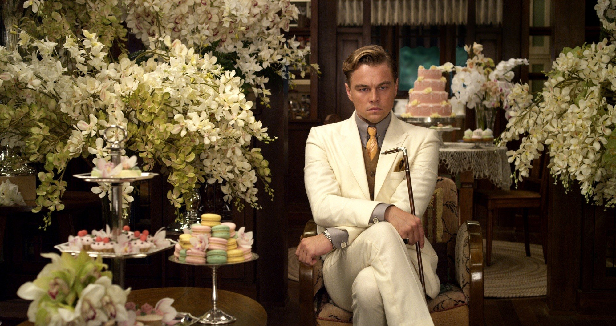 DiCaprio as Jay Gatsby
