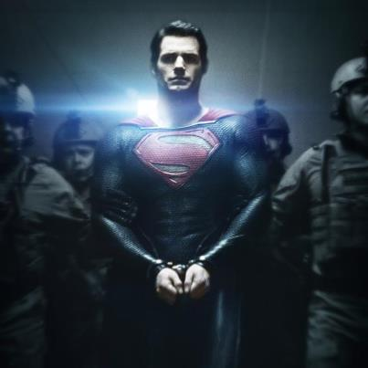 Cavill in Man of Steel