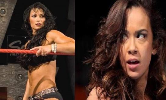 Victoria (left) vs. AJ Lee (right)