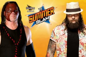 kane vs. bray wyatt - summerslam
