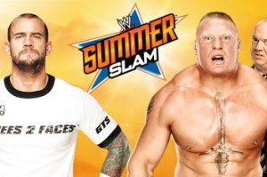 Lesnar vs. Punk - SummerSlam