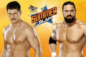Rhodes vs. Sandow - SummerSlam