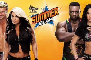 Ziggler-Kaitlyn vs. BigE-AJ - SummerSlam