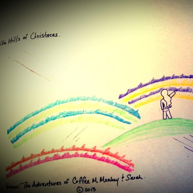 The Hills of Christmas (c) 2013. Bobby James.