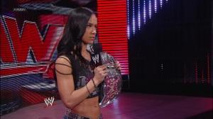 WWE RAW - AJ Lee