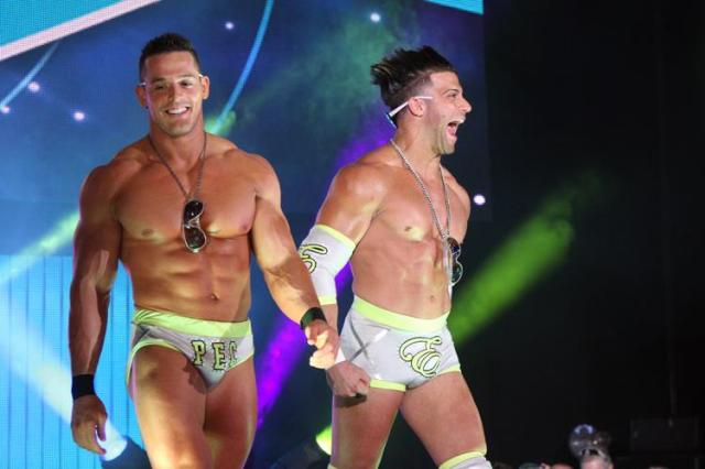 The BroMans Jessie Godderz (left) and Robbie E. (right)