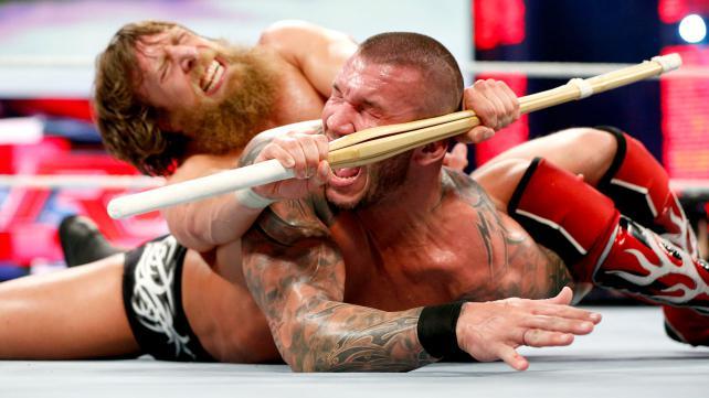 Daniel Bryan makes Randy Orton tap out!
