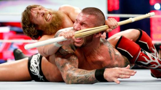 Daniel Bryan makes Randy Orton tap out!