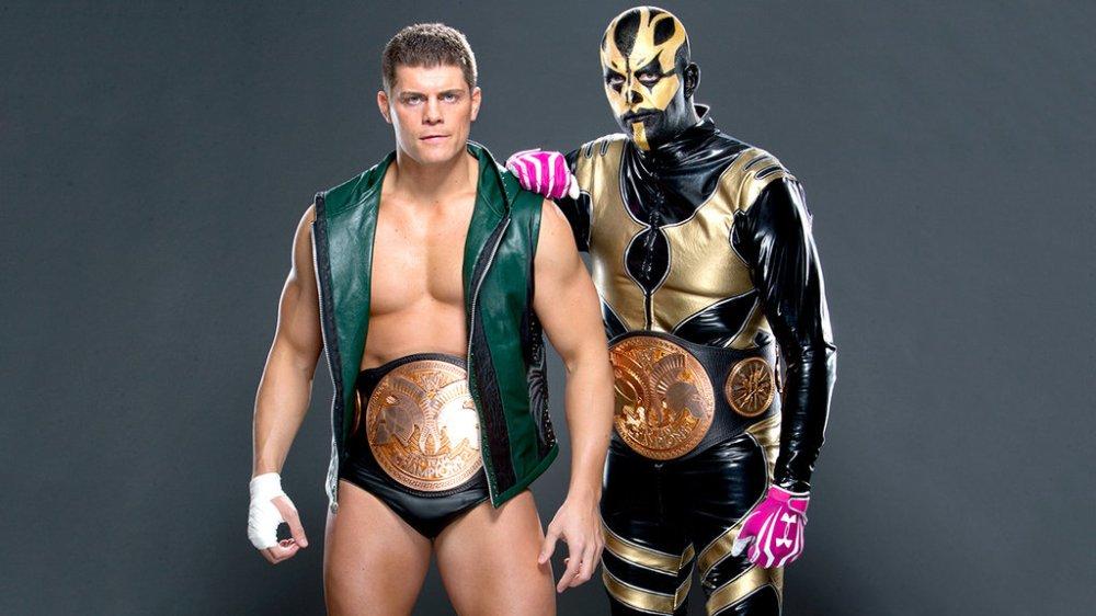 Cody Rhodes and Goldust - RHODES