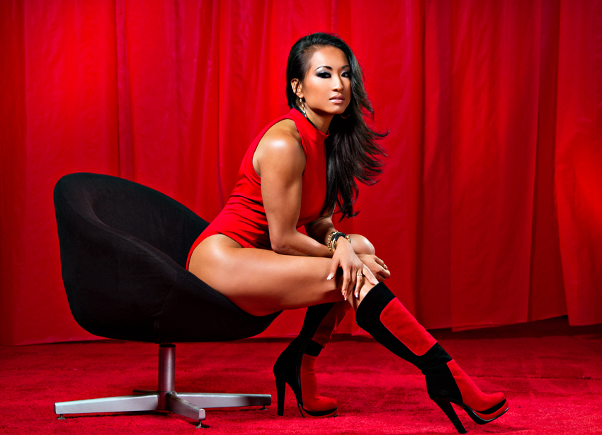Gail Kim: Knockout's Champion and Wrestler of the Year.