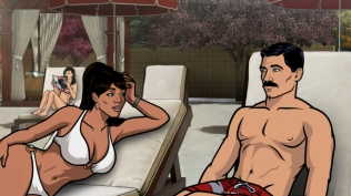 Lana and Archer, Archer (FX)