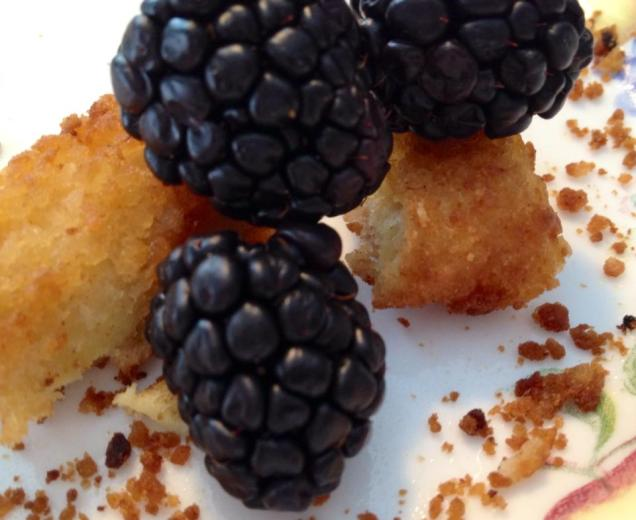 Blackberries & French Toast