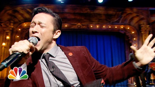 JGL in the Jimmy Fallon sing-off