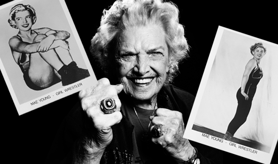 WWE Hall of Famer, Mae Young
