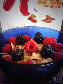 Vanilla Almond Special K with Berries
