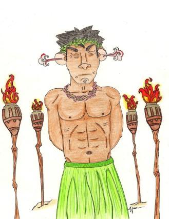 Kanani and Lack-a-Nooki - see the joke: https://thebobbyjames.com/2014/02/05/new-art-kanani-and-lack-a-nooki/