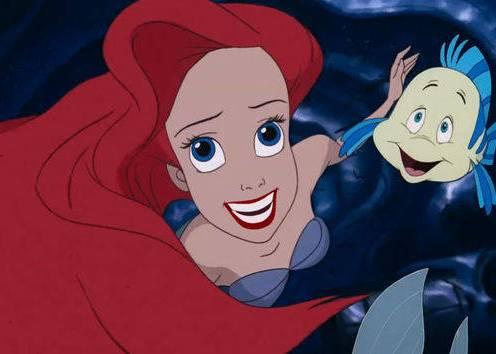 """Jodi Benson as """"Ariel"""""""