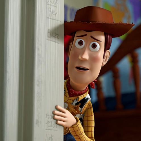 """Tom Hanks as """"Woody"""""""