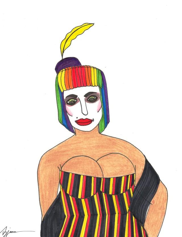 Burlesque. (c) 2014. Bobby James
