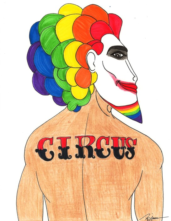 Circus Freak (c) 2014. Bobby James.
