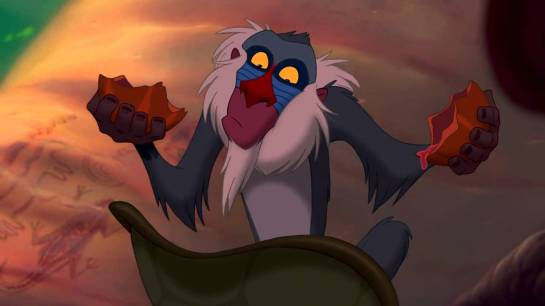 from The Lion King (1994). Voice:  Robert Guillaume