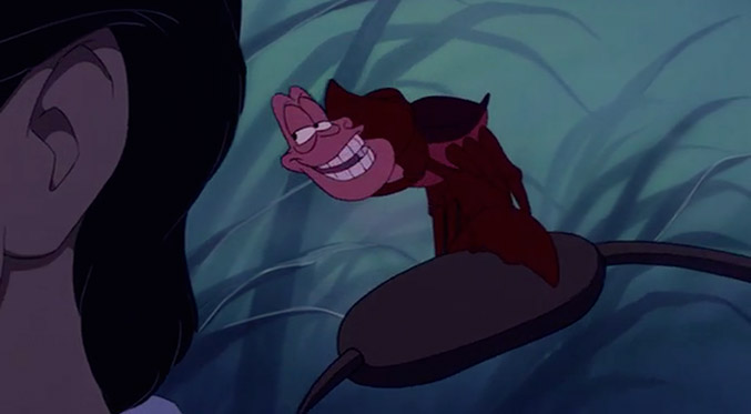 from The Little Mermaid (1989). Voice: Samuel E. Wright