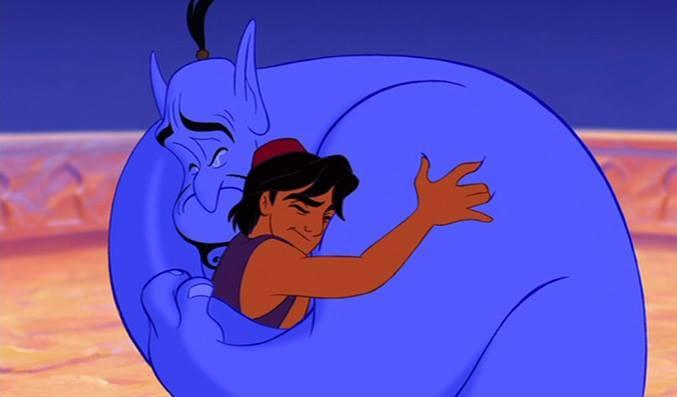 """Genie, you're free."""