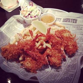 Coconut Shrimp from Bubba Gump Shrimp Co.