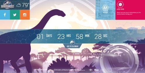 Jurassic World Website 1