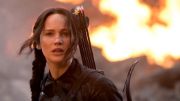 Lawrence soars as the Mockingjay in Part 1
