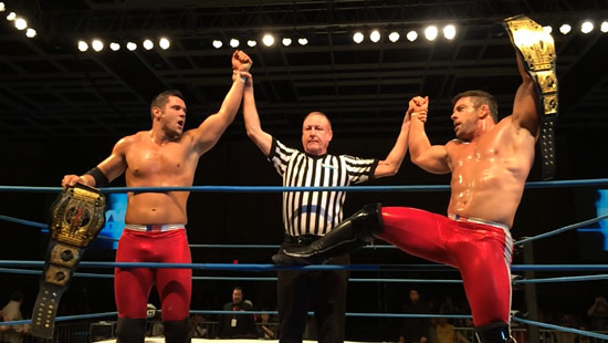 The Wolves. Photo Credit: IMPACT Wrestling.