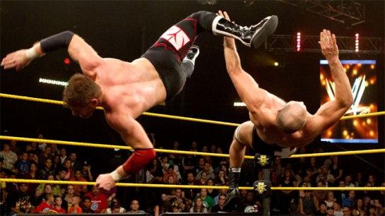Zayn vs. Cesaro - NXT Arrival