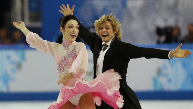 Meryl Davis and Charlie White - short program - world record