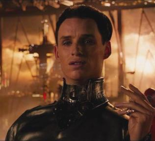 "Eddie Redmayne as ""Balem Abrasax"""