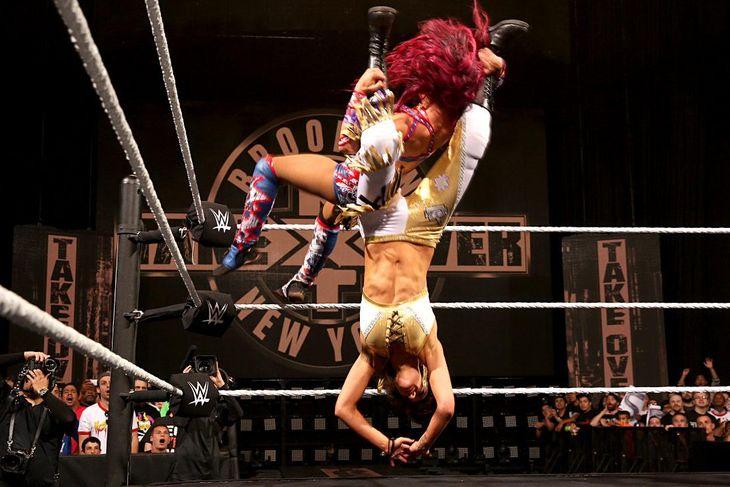 Match - Sasha vs. Bayley