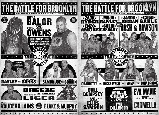 Show - NXT TakeOver Brooklyn
