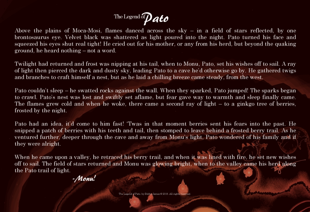 The Legend of Pato - BACK - official 2