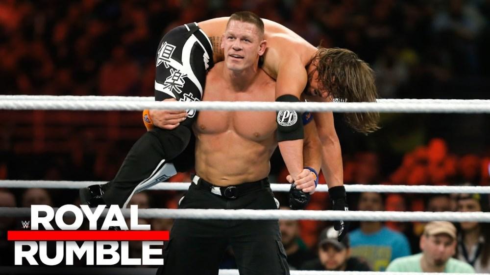 Match - AJ Styles vs John Cena - RR