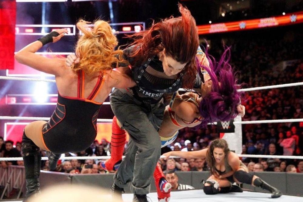 Moment - Womens Royal Rumble