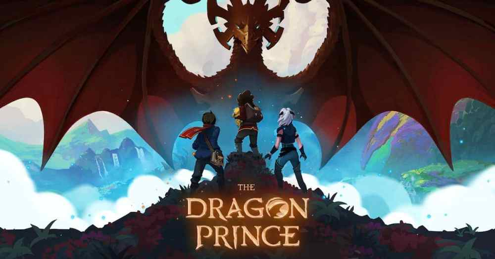 dragon prince - animated series