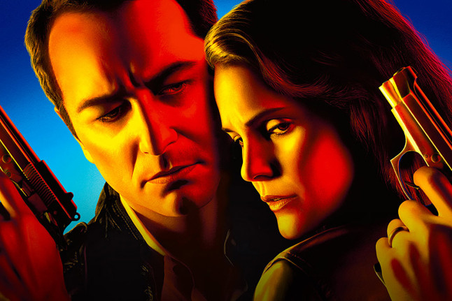 promo art - the americans