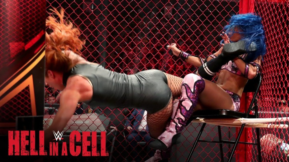 Match - Becky vs. Sasha HIAC